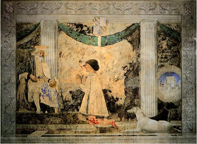 Piero della Francesa e il suo affresco L'Escargot | Tutti i trend del momento nella Moda, Arte, Food & Business :: Italian Fashion Events